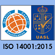 ISO 14001:2015 Certifcate